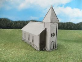 15mm ACW Buildings: TRF330 Large Classic American Church with Steeple