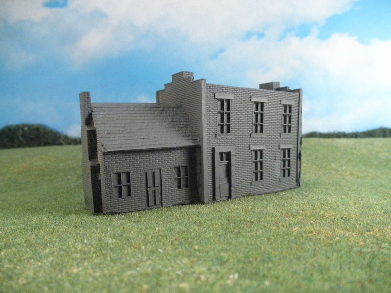 15mm ACW Buildings: TRF331 Brick Factory with Addition