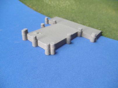 15mm ACW Buildings: TRF338 River Dock