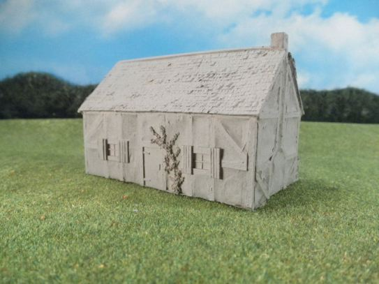 15mm English / European Buildings: TRF351 Large Village House with Kentish Framing