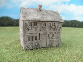 15mm English / European Buildings: TRF352 Pub, 2 Story, with Kentish Framing