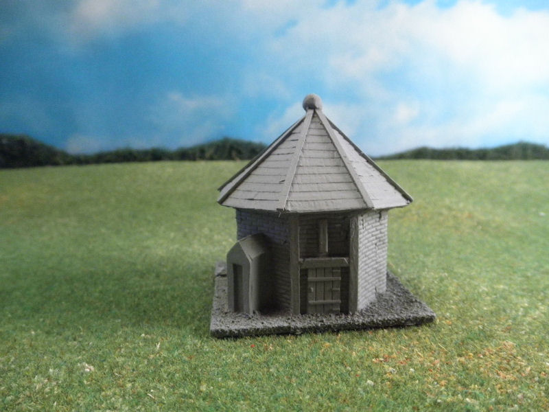 15mm English / European Buildings: TRF357 Octagonal Powder Magazine