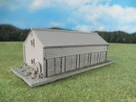 15mm English / European Buildings: TRF359 Large Wooden Stable