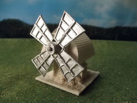 15mm English / European Buildings: TRF361 Windmill, Continental Style