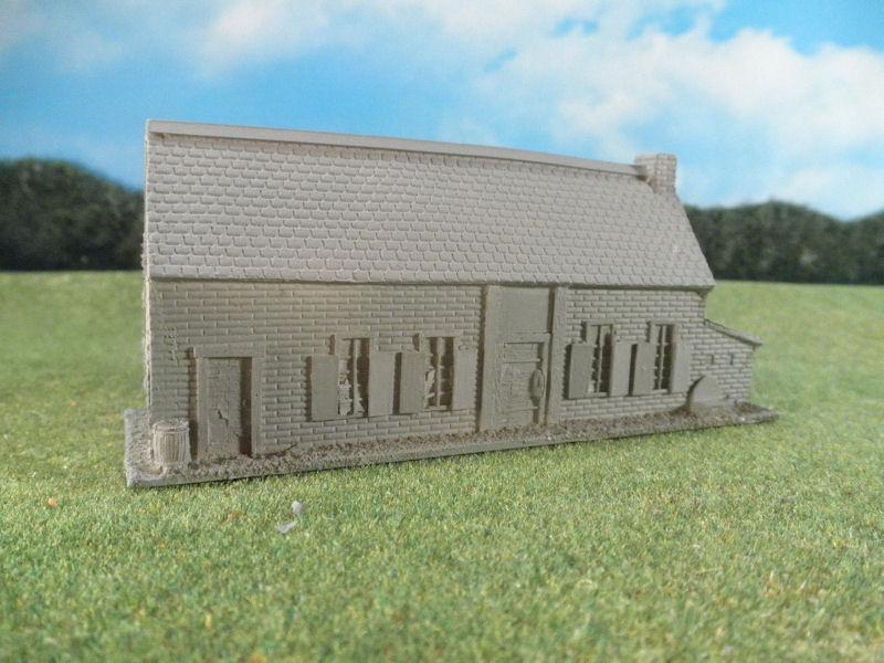 15mm English / European Buildings: TRF362 La Belle Alliance Inn
