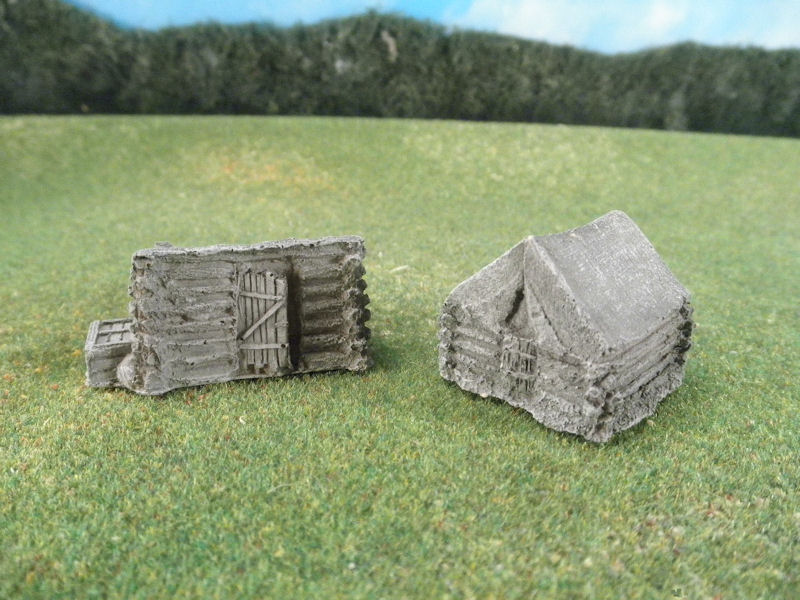 15mm Terrain: TRF413 ACW Winter Quarters