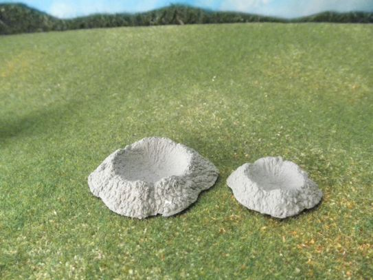 15mm Terrain / 25mm Terrain: TRF83 Shell Craters