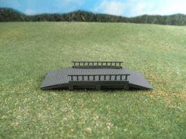 6mm ACW Buildings & Terrain: TRF989 Wood Bridge