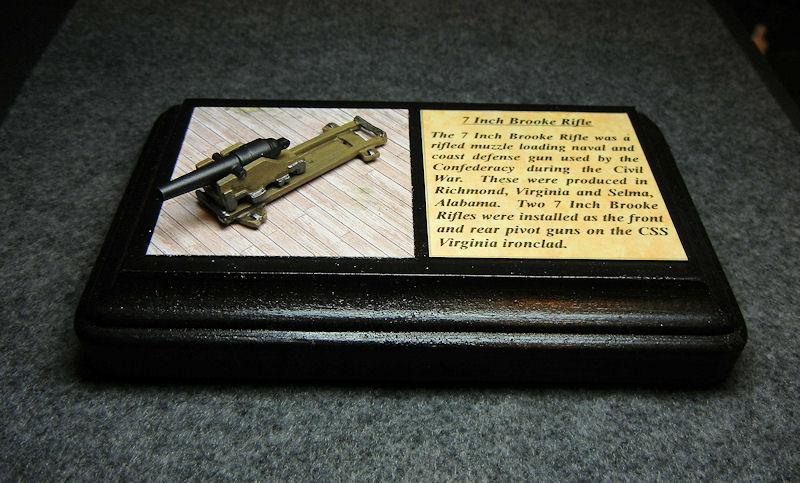 "15mm ACW Naval Artillery: ACW 145 Brooke Rifle 7"""