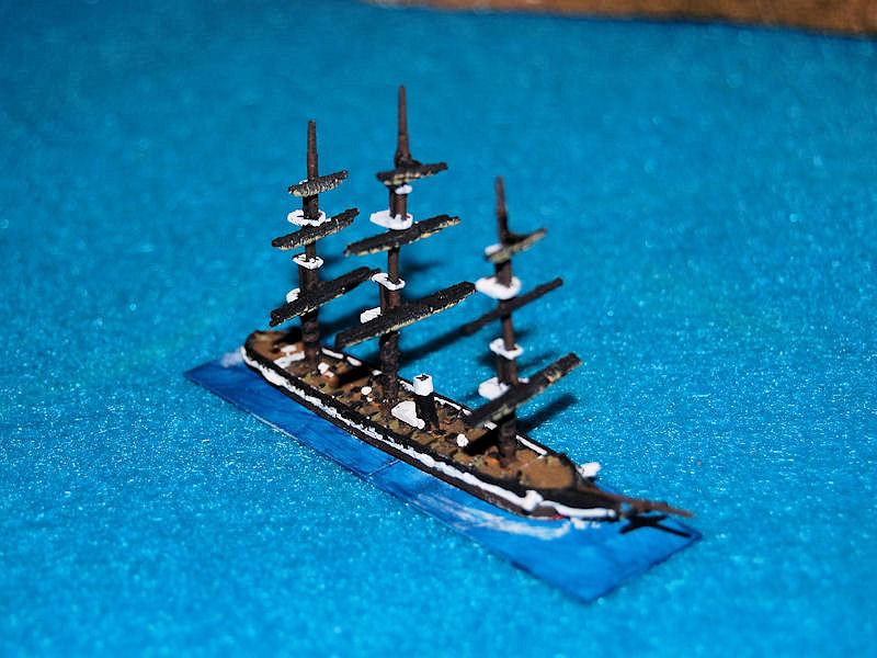 Houston's Ships 1/1200 Ships: HSS52 USS Pensacola painted as USS Brooklyn