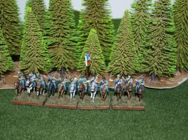 Stone Mountain Miniatures 15mm ACW: Confederate Cavalry