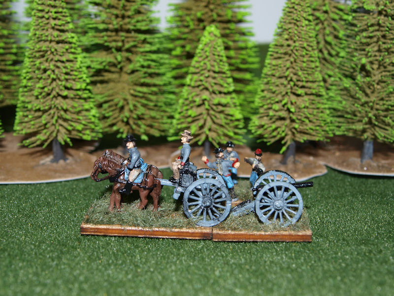 Stone Mountain Miniatures 15mm ACW: Confederate Limber & Artillery