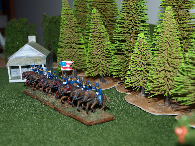 Stone Mountain Miniatures 15mm ACW: Union Cavalry