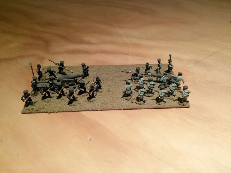 Stone Mountain Miniatures 15mm ACW Naval Crew