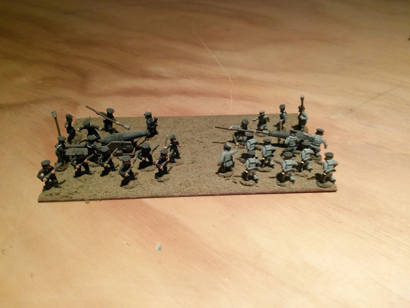 Stone Mountain Miniatures 15mm ACW Naval Crew