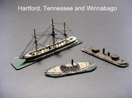 USS Hartford-CSS Tennessee-USS Winnabago