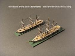 USS Pensacola-USS Sacramento