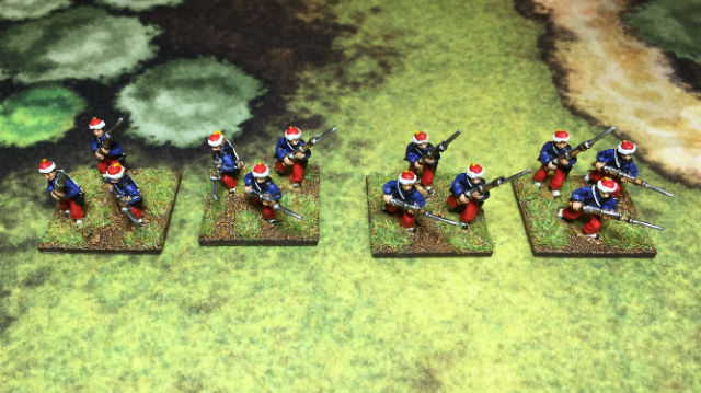 ACW35 Zouave Infantry, Advancing & charging, Turbaned Fez