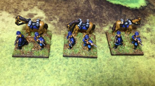 ACW68 Kepi Dismounted Cavalry